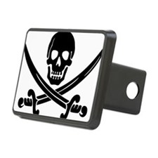 black skull and crossbones Hitch Cover