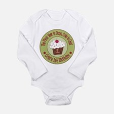 Personalized 1st Birthday Cupcake Body Suit