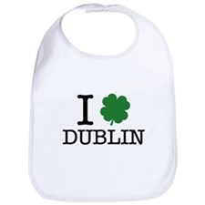 I Shamrock Dublin Bib