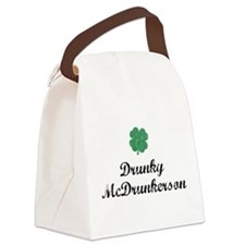 Drunky McDrunkerson Canvas Lunch Bag