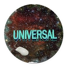 universal art illustration Round Car Magnet