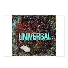 universal art illustration Postcards (Package of 8