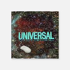 universal art illustration Sticker