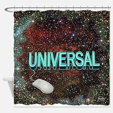 universal art illustration Shower Curtain