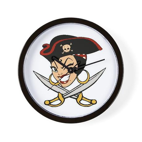 Captain Mia Amore Wall Clock