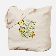 French Butterflies Tote Bag