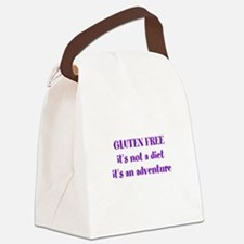 GLUTEN FREE adventure Canvas Lunch Bag
