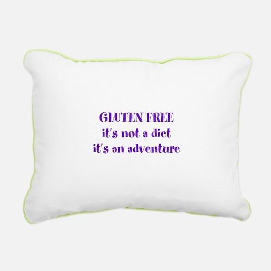 GLUTEN FREE adventure Rectangular Canvas Pillow