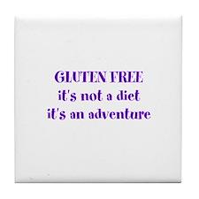 GLUTEN FREE adventure Tile Coaster