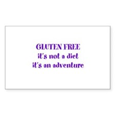 GLUTEN FREE adventure Decal