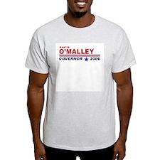 Martin O'Malley Ash Grey T-Shirt