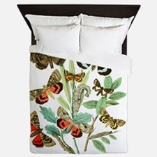 French Butterflies Queen Duvet