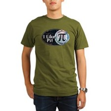 I Like Pi Oval T-Shirt