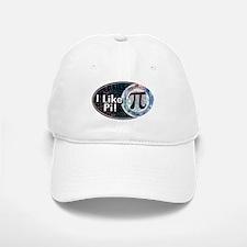 I Like Pi Oval Baseball Baseball Cap