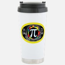 Pi Day 3.14 Yellow Ring Travel Mug