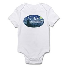 Pi in the Sky Oval Infant Bodysuit