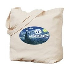 Pi in the Sky Oval Tote Bag