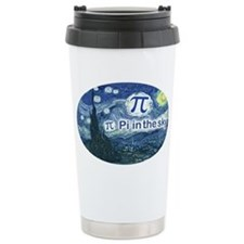 Pi in the Sky Oval Travel Mug