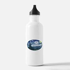 Pi in the Sky Oval Water Bottle