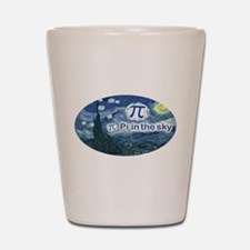 Pi in the Sky Oval Shot Glass