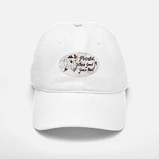 Pi Day Pirate Oval Baseball Baseball Cap