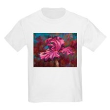 Purple Iris Flower T-Shirt