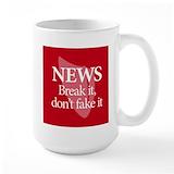 Journalism Large Mugs (15 oz)