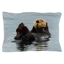 Cute Sea otter Pillow Case