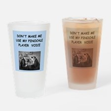 PINOCHLE Drinking Glass