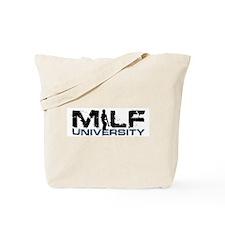 MILF M.I.L.F. UNIVERSITY Tote Bag