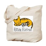 Kitten Rescue Tote Bag