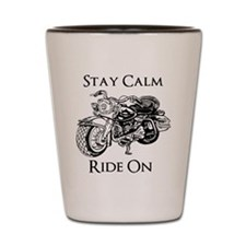 Ride Motorcycles Shot Glass