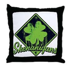 Irish Shenanigans BG Throw Pillow