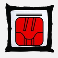 RED Magnetic SKYWALKER Throw Pillow