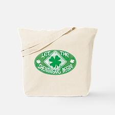 Shenanigans Begin Green Tote Bag