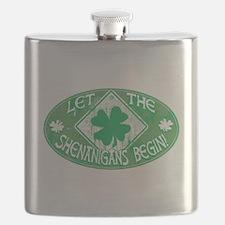 Shenanigans Begin Green Flask
