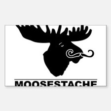 moosestache2 Decal