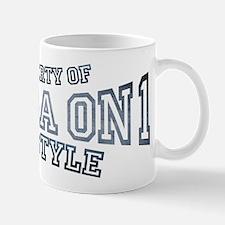 Property of Salsa on 1 L.A. Style dance Mug