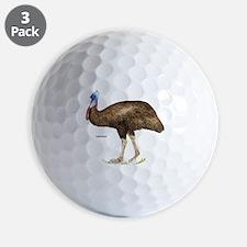 Cassowary Bird Golf Ball