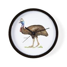 Cassowary Bird Wall Clock
