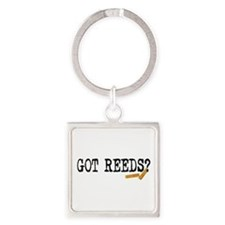 Got Reeds? Square Keychain