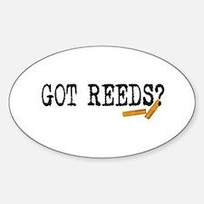 Got Reeds? Decal
