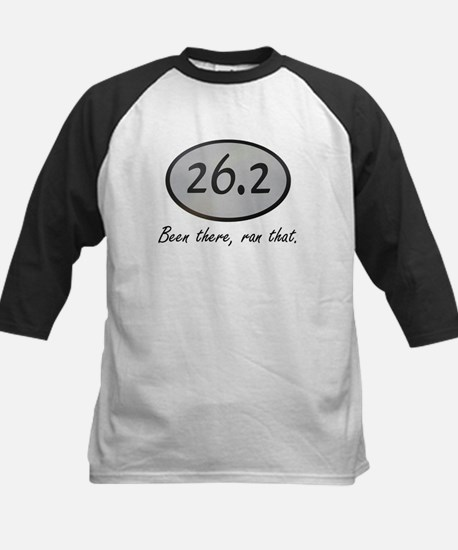 Been There 26.2 Kids Baseball Jersey