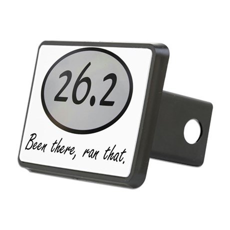 Been There 26.2 Rectangular Hitch Cover