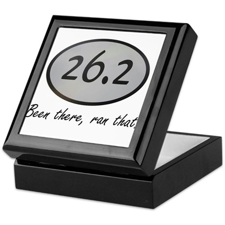 Been There 26.2 Keepsake Box
