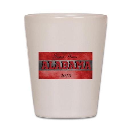 Sweat Home Alabama Shot Glass