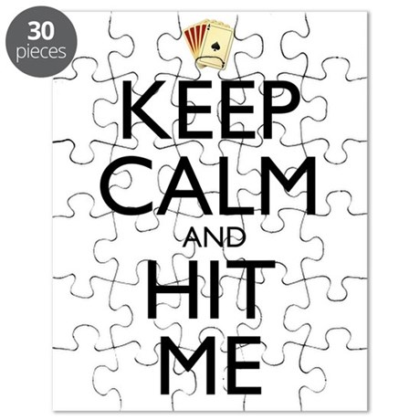 Keep Calm and Hit Me Puzzle