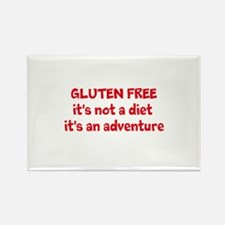 GLUTEN FREE adventure Rectangle Magnet