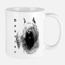 Bouvier Charcoal Mug