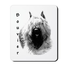 Bouvier Charcoal Mousepad
